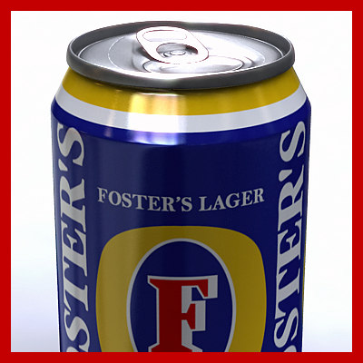 3dsmax 33cl foster beer