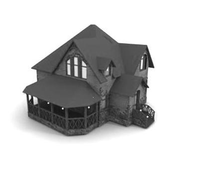 house studio 3d 3ds