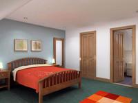 Bedroom set with Ensuite