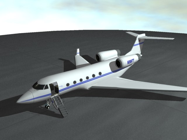 small airplane 3d 3ds