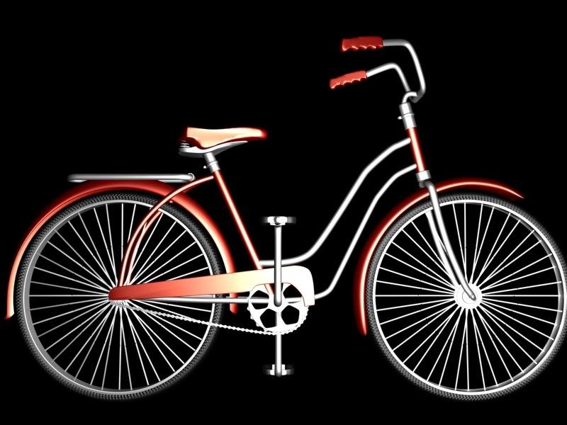 3d model 1940 bicycle bikes