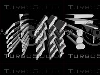 3d model mouldings rails siding paneling