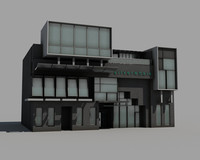 3dsmax office building