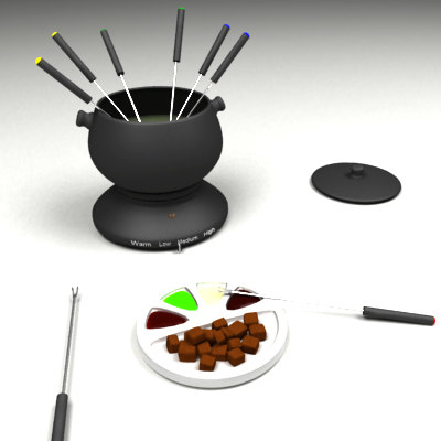 3ds max fondue flesh