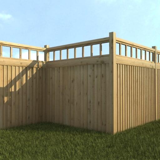 maya fence exterior garden