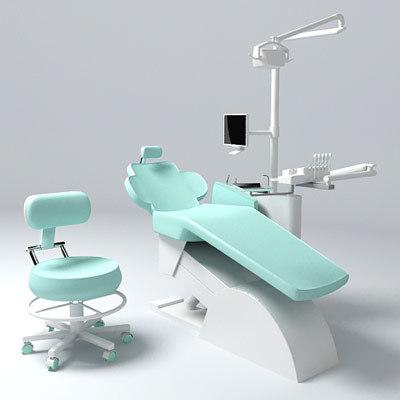 dentist chair 3d 3ds