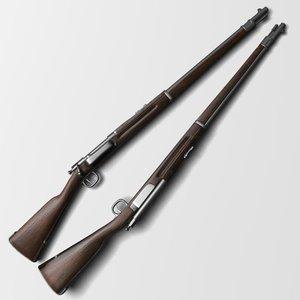 max fusil krag-jorgenssen 1892