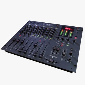 m1 mixing console 3d model