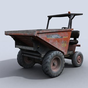 3d dumper 1 model