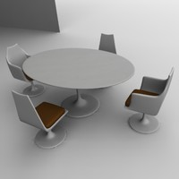 3ds table chairs