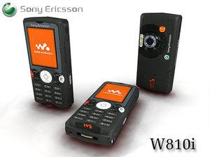 sony ericsson w810i 3ds