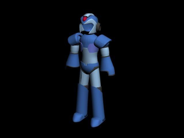 3d model megaman x