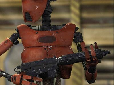 laser rifle gun max