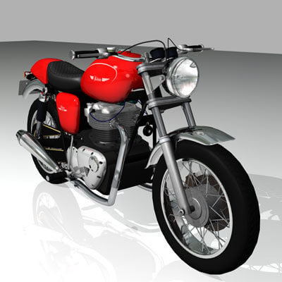 bike british triumph lwo