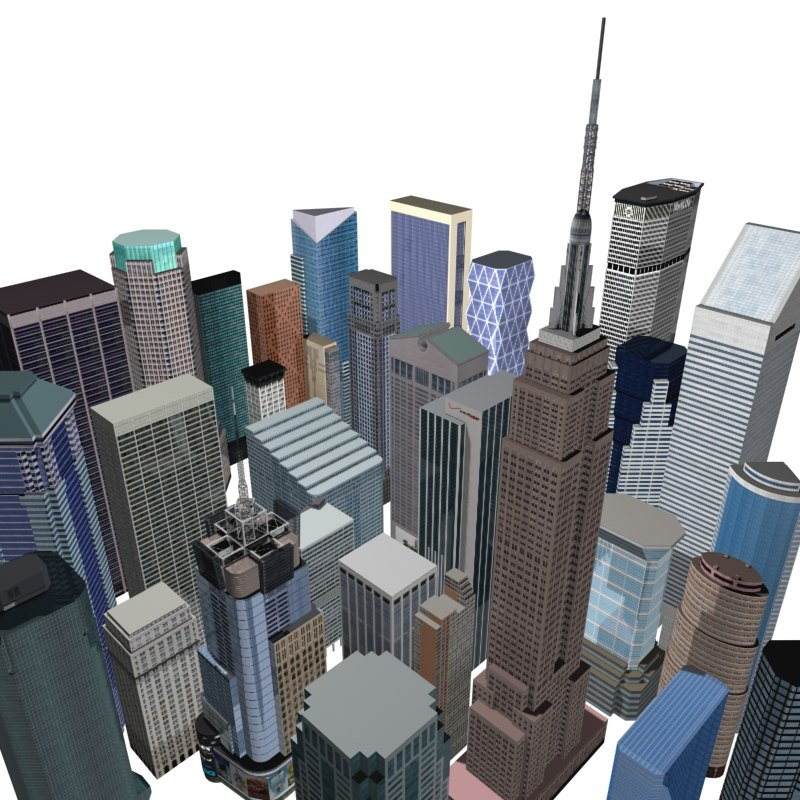 max 32 new york skyscrapers