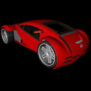 3ds lexus cs 2054