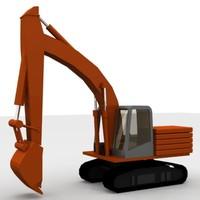 crane hitachi 3d 3ds