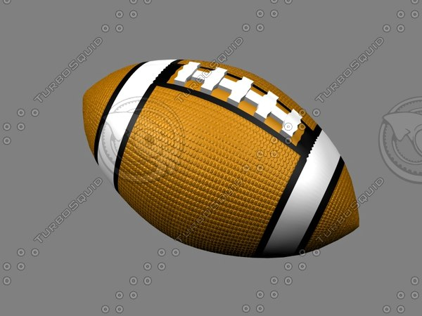 football foot ball 3d dxf