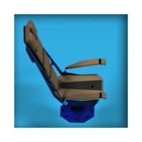 seat futuristic 3d model