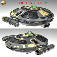3d foo fighter model