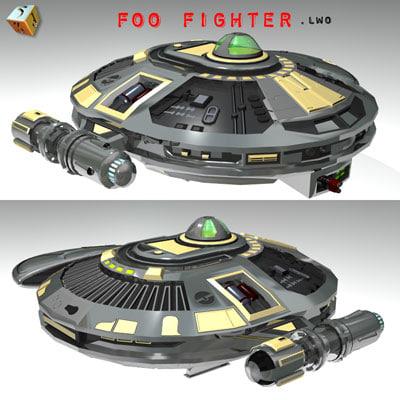 3d foo fighter model