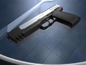 gun croft 3d model