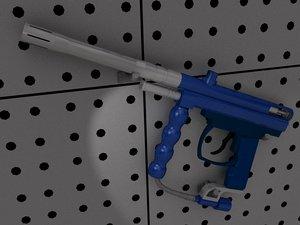 free spyder victor 3d model