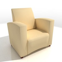 3ds max comfort chair