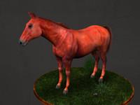 horse MAX 3DS OBJ.rar