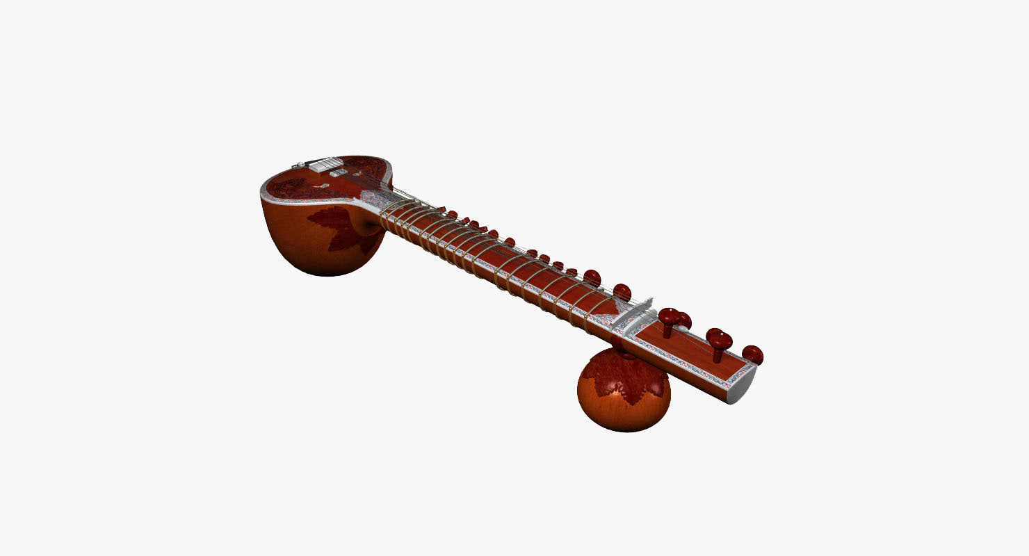 3ds max sitar
