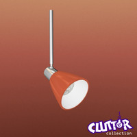 3d spotlight light track model