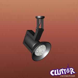 max spotlight light track