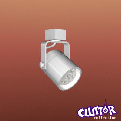 spotlight light track 3d model