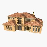 3ds max villa residence