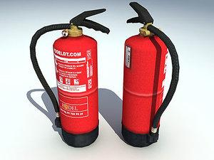 3ds max extinguisher