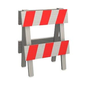 3d traffic barrier