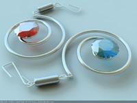 3dsmax ear ring