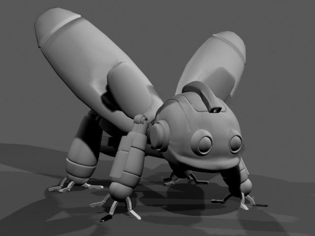max small robot bug
