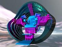 timechair time 3d model