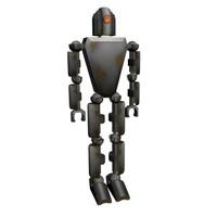 robot rusty 3d max