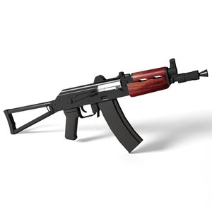 aks-74u assault rifle 3ds