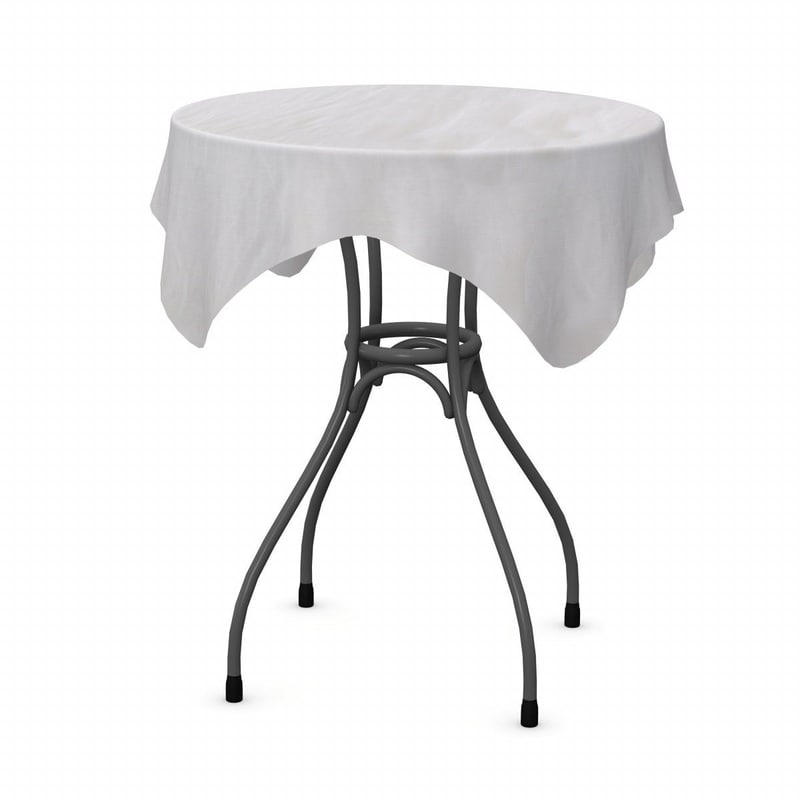 3dsmax table tableclothes