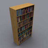 3ds book shelves