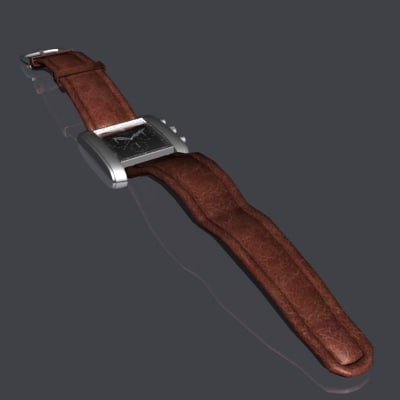 3d model raymond wrist watch
