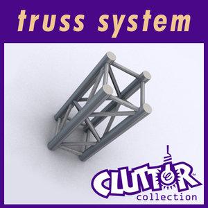 truss display cluttertruss max