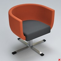 Armchair swivel028.ZIP