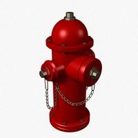 3d hydrant model