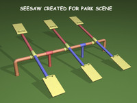 lightwave seesaw playground