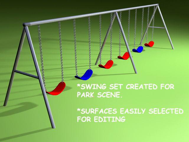 swingset playground swing 3ds