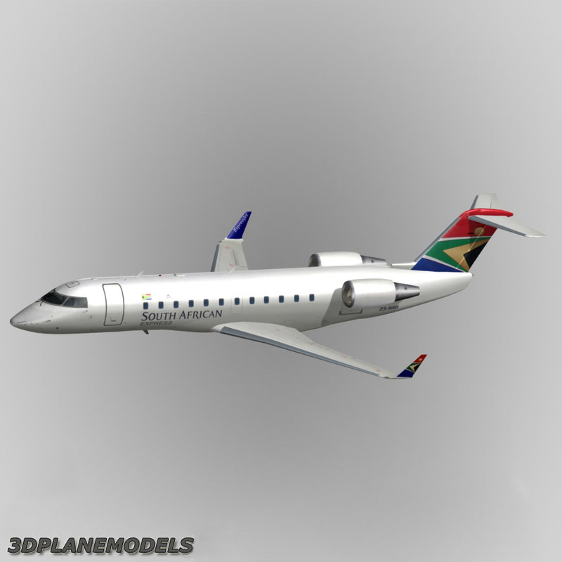 Bombardier CRJ-200 South African Express